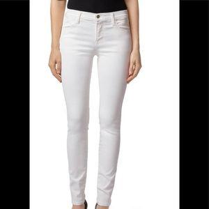 J brand 620 super skinny white jeans sz 27